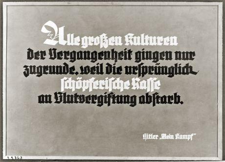 Hitler Zitat
