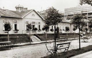 Baracke in der Kinderklinik vor dem 2. Weltkrieg