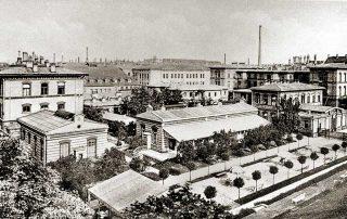Kinderklinik vor dem 2. Weltkrieg Ansicht 1